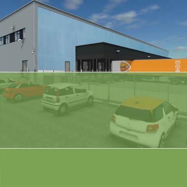 PostNL – sorteercentrum pakketten Den Hoorn